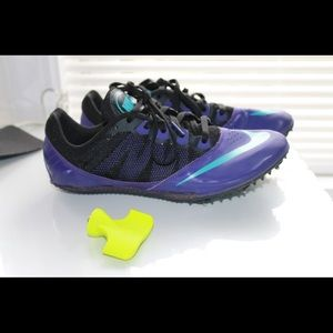 Nike spikes. For track runners